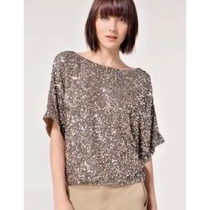 Vince • sequin top